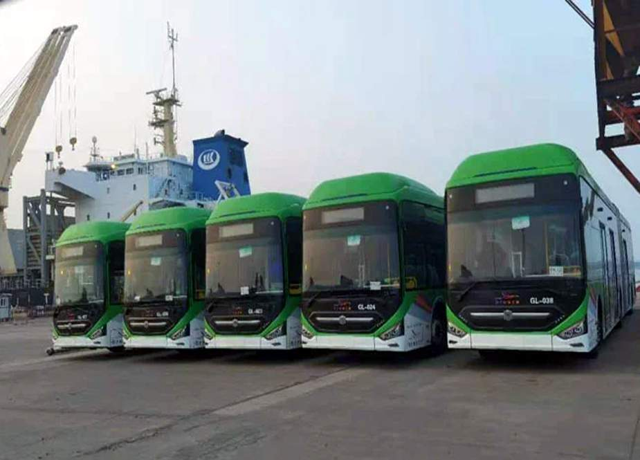 وفاقی حکومت کی گرین لائن بسیں کراچی پہنچنے پر سندھ حکومت بھی متحرک