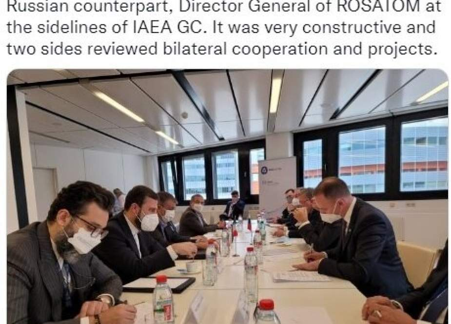 Pemimpin Nuklir Iran Dan Rusia Mengadakan Pertemuan