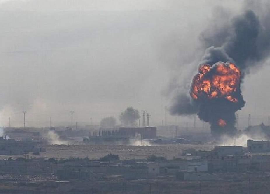 Ledakan Mengerikan Hantam Al-Bukamal di Suriah