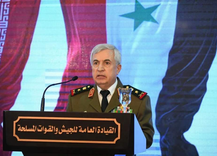 Ali Ayyoub, Syrian Defense Minister and Chief of Staff