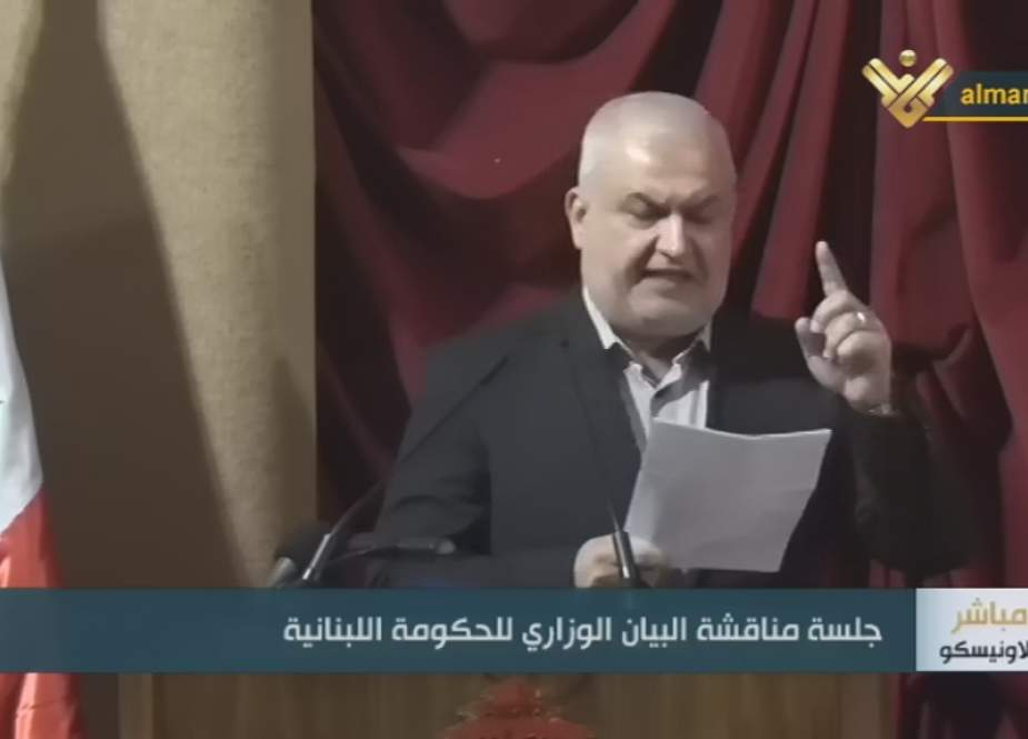 """MP Mohammad Raad, Head of """"Loyalty to Resistance"""" bloc"""