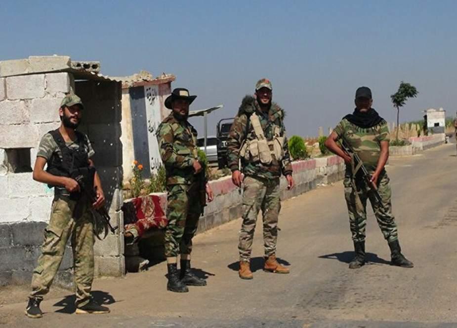 الجيش السوري يثبّت نقاط تفتيش في أحياء طفس بدرعا