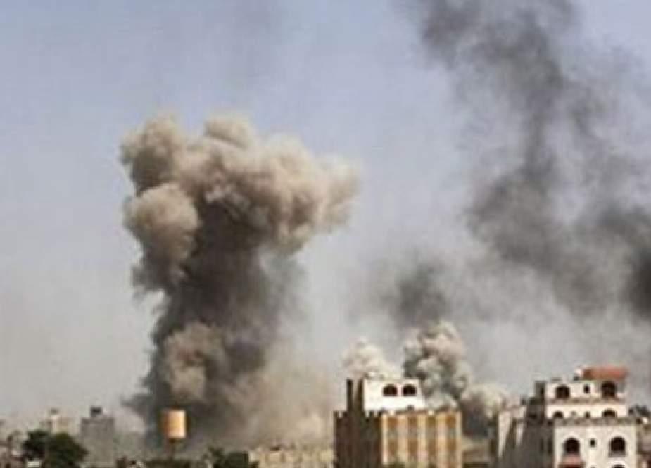 Saudi air strike in Yemen