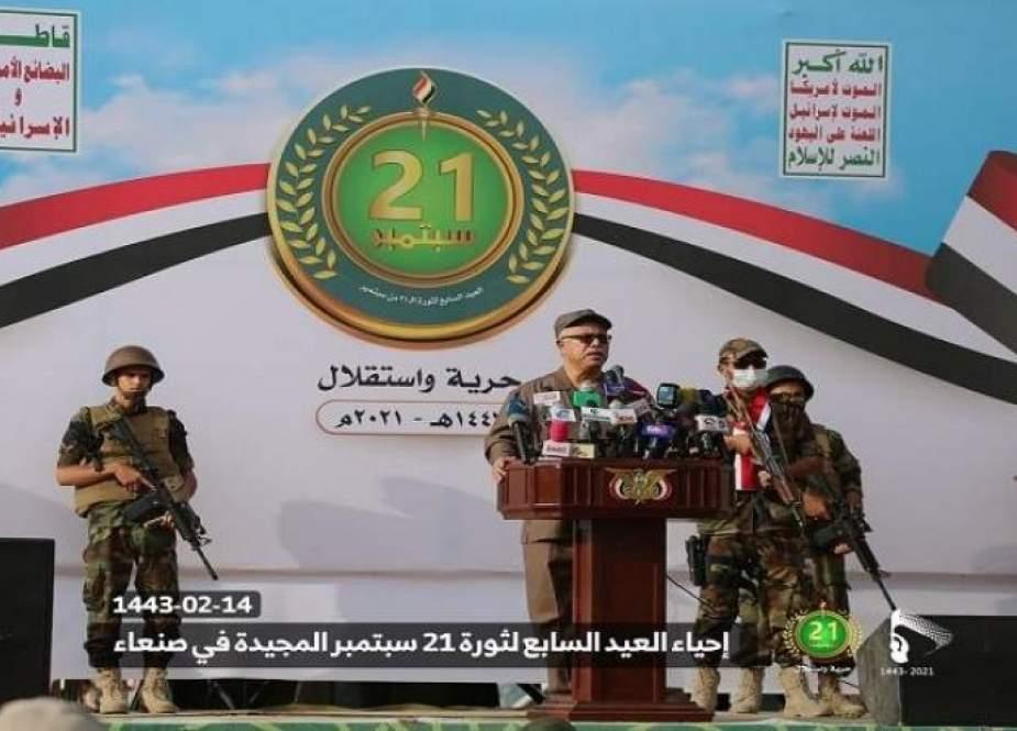 رئيس وزراء اليمن: ثورة 21 سبتمر بتضامنها مع فلسطين أزعجت العدو الإسرائيلي