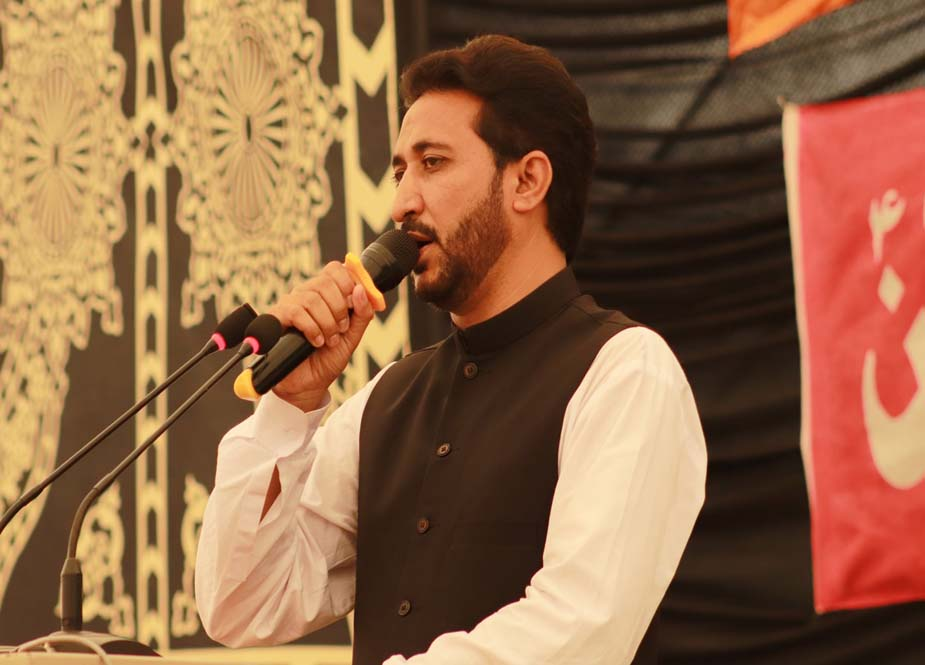 جامعہ کراچی میں آئی ایس او اور دفتر مشیر امور طلبہ کے تحت یوم حسینؑ کا انعقاد