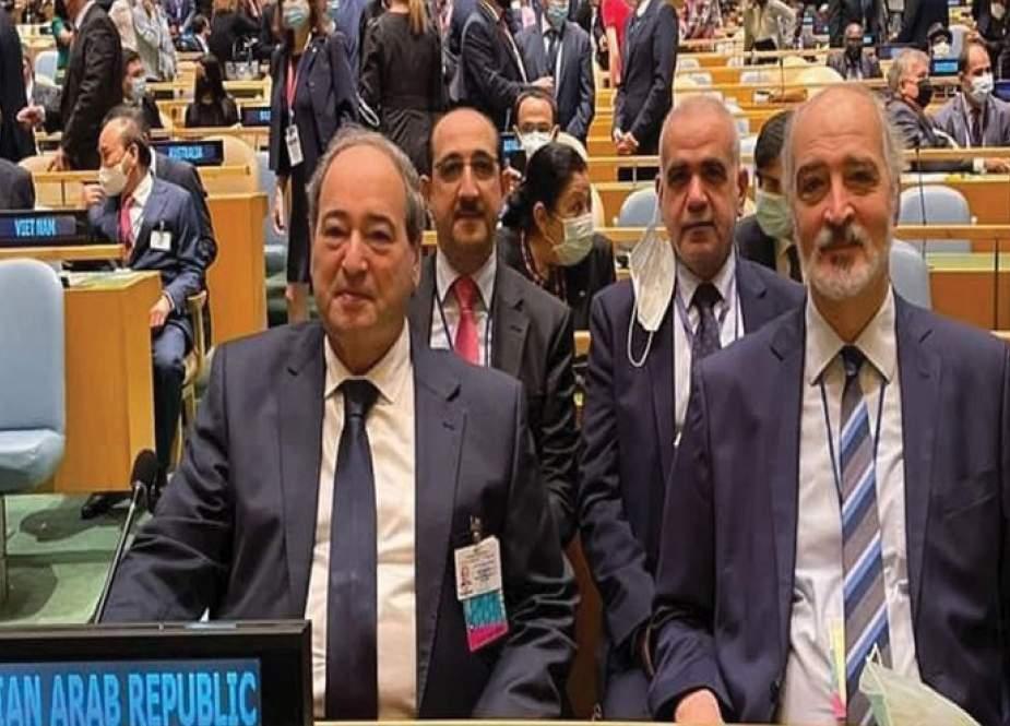 جدول لقاءات وفد سوريا في اجتماعات الامم المتحدة