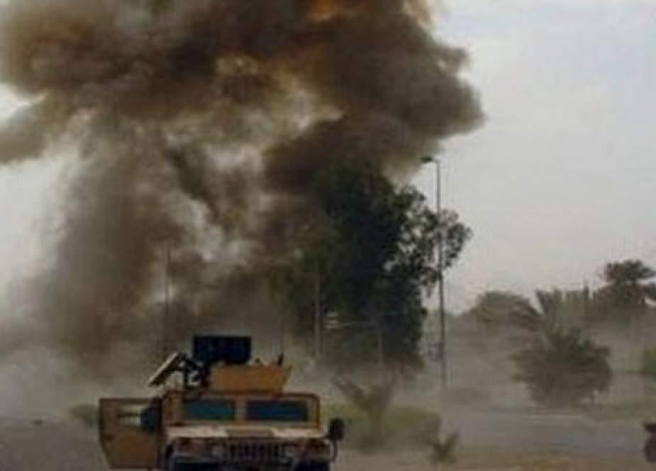 دو کاروان لجستیک ارتش آمریکا در عراق هدف قرار گرفت