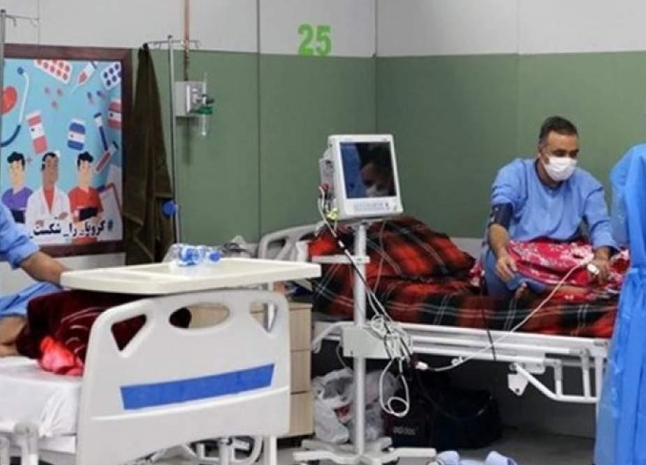 ايران.. انخفاض في الحصيلة اليومية لعدد الوفيات بكورونا