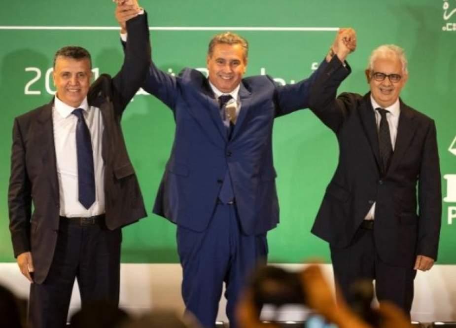 رئيس الحكومة المغربي المكلف يعلن تشكيل ائتلاف من ثلاثة أحزاب