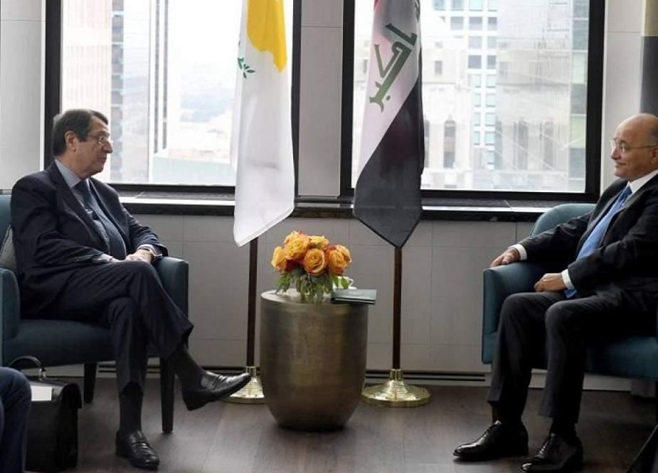 برهم صالح يؤكد أهمية التنسيق الدولي لمواجهة الإرهاب