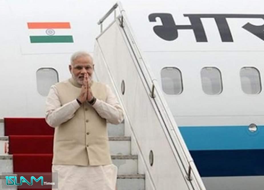 India Uses Pakistani Airspace for Modi