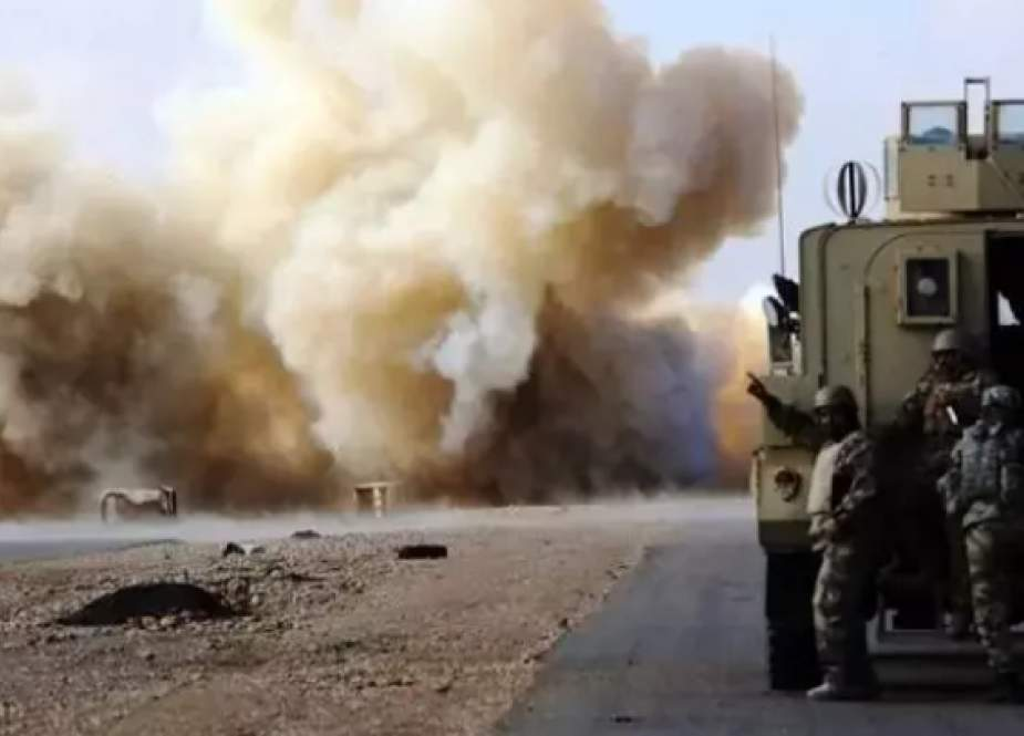 US military logistics convoys were attacked in Iraq's Babil and Baghdad provinces.png