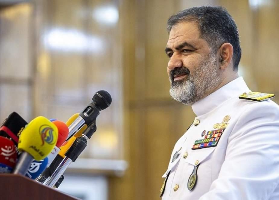 الأدميرال إيراني: القوة البحرية قوة استراتيجية تدافع عن البلاد