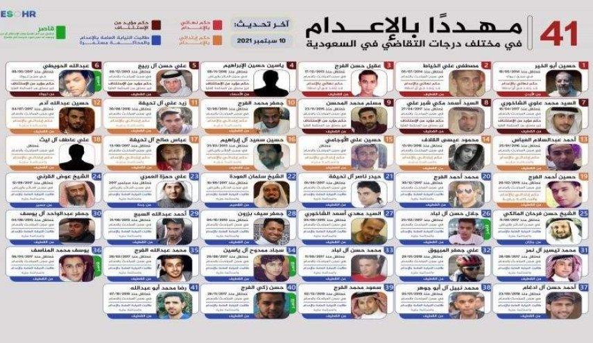 عشرات المعتقلين في السجون السعودية يتهددهم شبح الإعدام