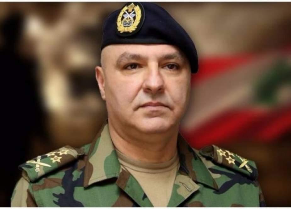 لبنان: قائد الجيش إلى تركيا وأميركا لطلب دعم لوجستي