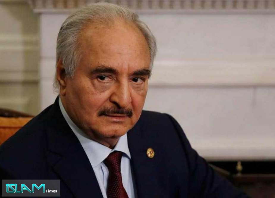 Libya's Haftar Says Suspends Military Role, Ahead of Polls