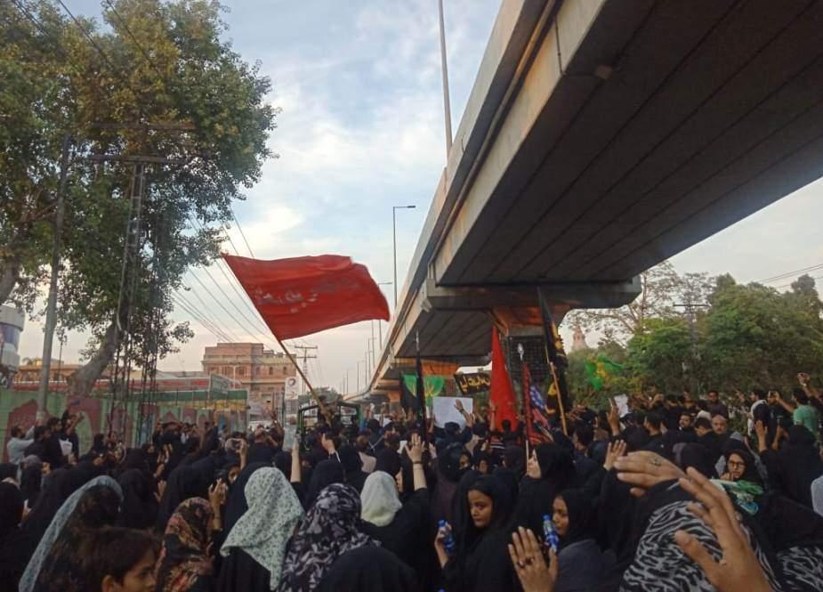 لاہور، چہلم امام حسینؑ پر اربعین واک کے 9 روٹس کا اعلان