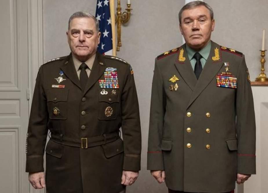 اجتماع قائد الجيش الأمريكي و نظيره الروسي في هلسنكي