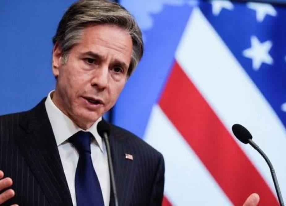 بلينكن: ندعم إجراء الانتخابات في موعدها وخروج المرتزقة من ليبيا