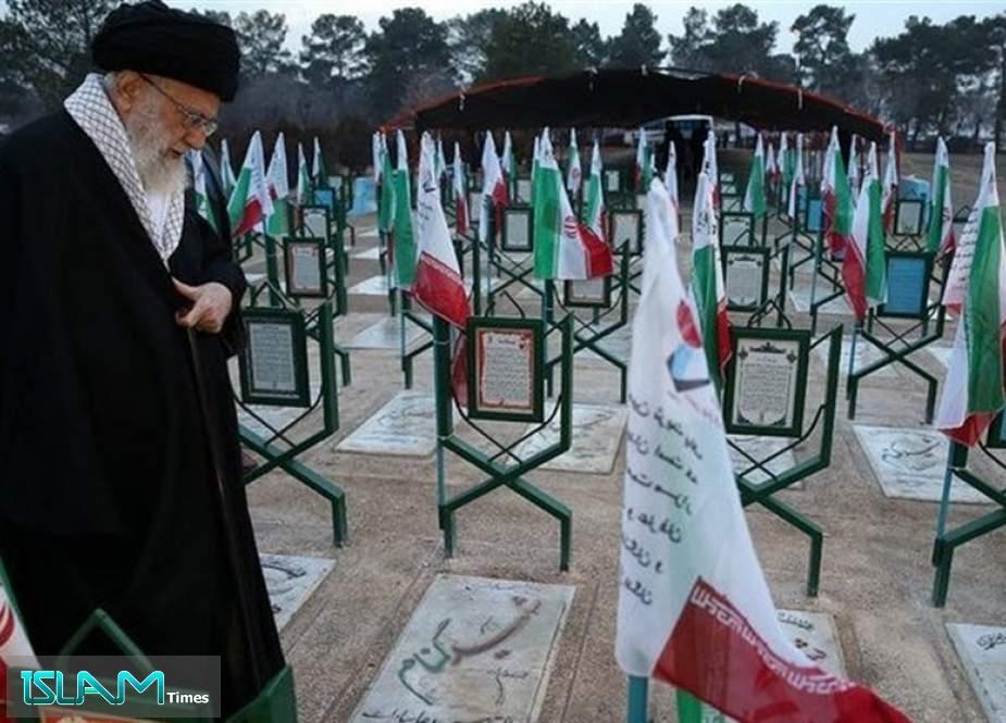 Martyrs' Blood Marked Legitimacy of Islamic Republic on Forefront of History: Ayatollah Khamenei