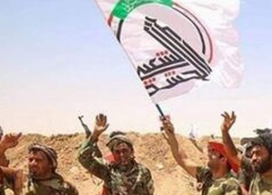 """الحشد الشعبي يعلن إحباط """"تعرض إرهابي"""" جنوب سامراء"""
