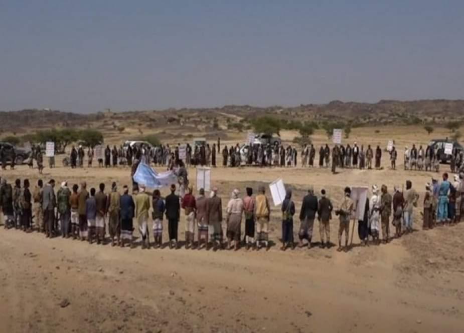 أبناء الصومعة بالبيضاء ينظمون وقفة مسلحة احتفاء بتحريرها