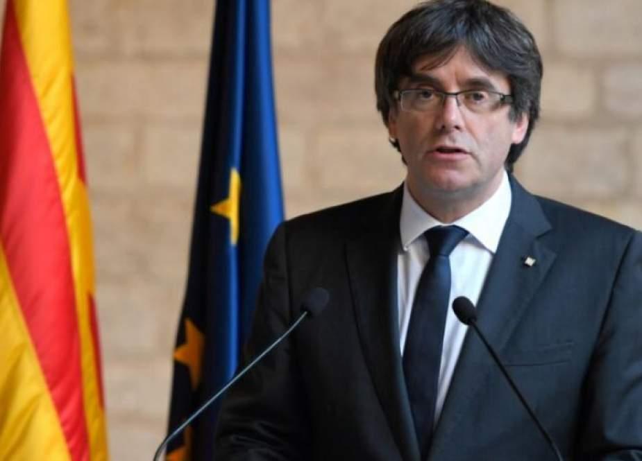 اعتقال رئيس حكومة كتالونيا الانفصالي السابق بوتشديمون في إيطاليا