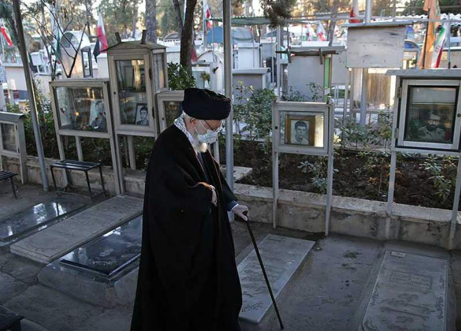 Imam Sayyed Ali Khamenei, on the anniversary of the occasion of Sacred Defense Week.jpg