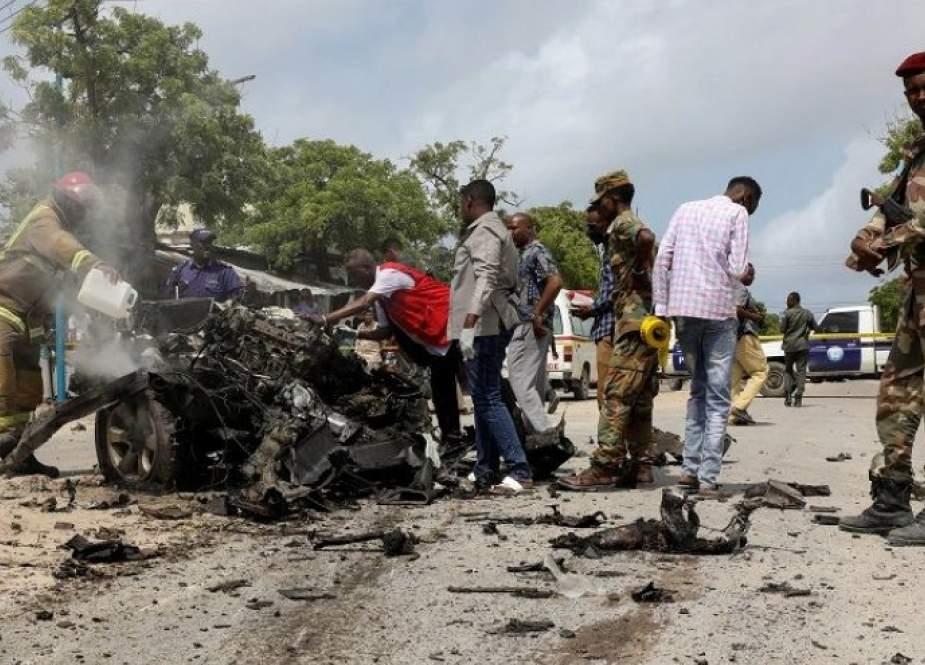 الصومال.. تفجير انتحاري قرب قاعدة عسكرية في مقديشو
