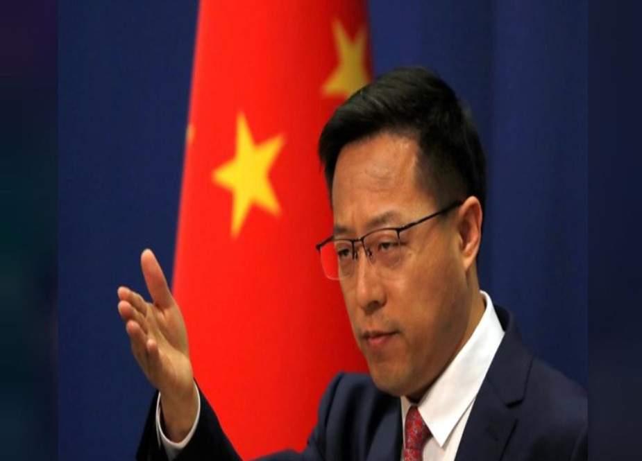 امریکہ اب تک ایران کے خلاف اپنائی گئی اپنی غلط پالیسیوں کا ازالہ کرے، چین