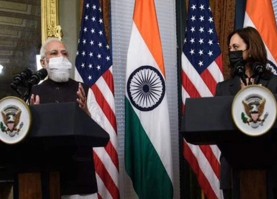 امریکی نائب صدر سے ملاقات، مودی شدید تنقید کی زد میں