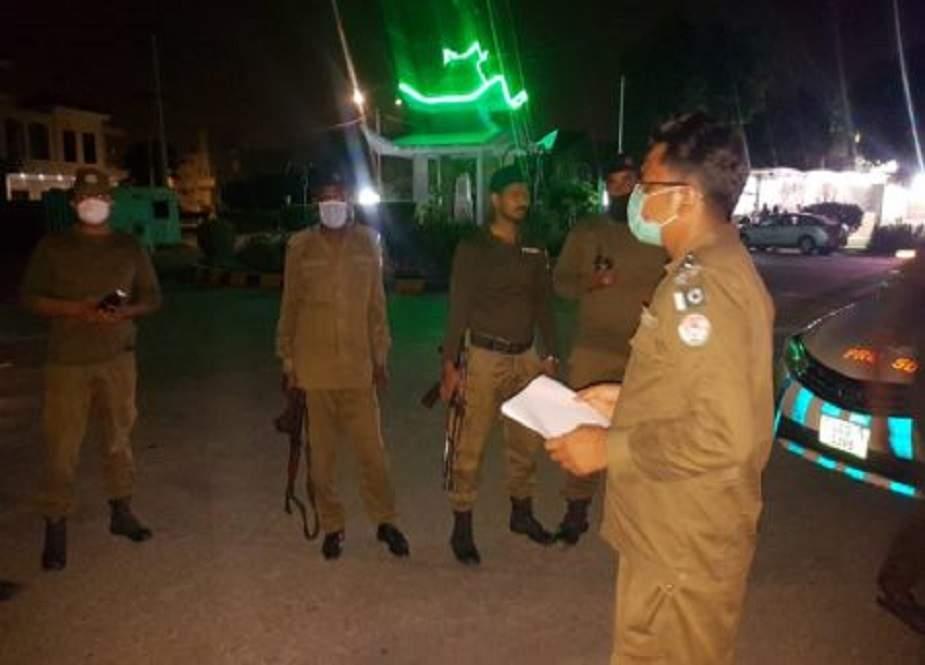 چہلم شہدائے کربلا، لاہور میں سیکورٹی ہائی الرٹ، پولیس کا سرچ آپریشن