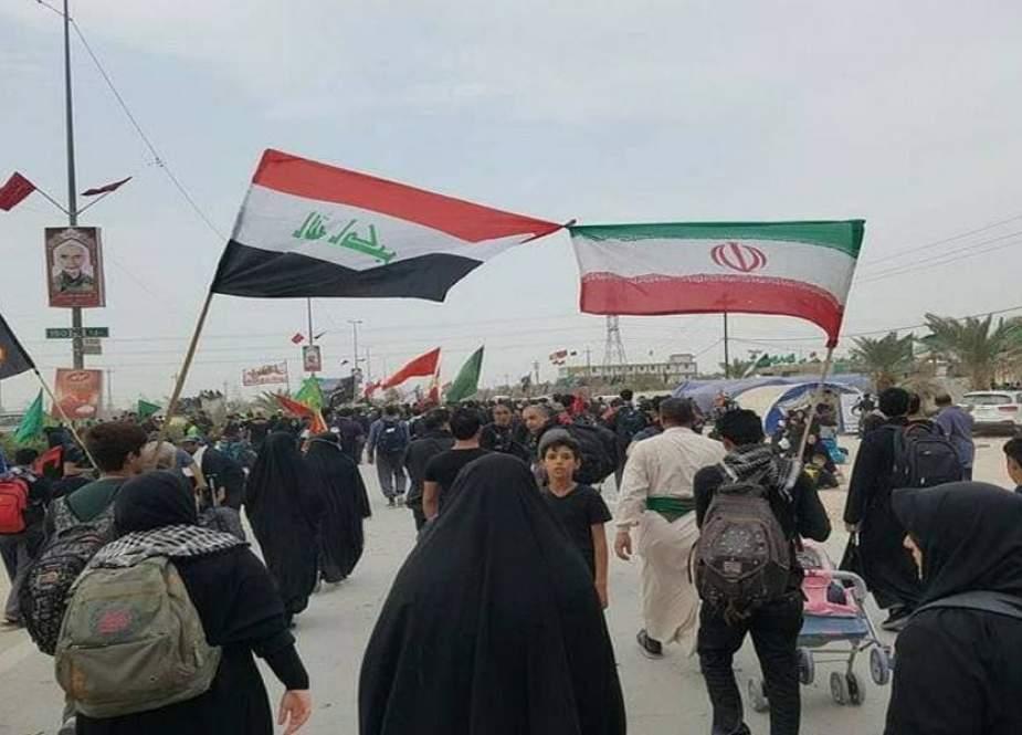 العراق يفتح حدوده البرية أمام الزوار الإيرانيين