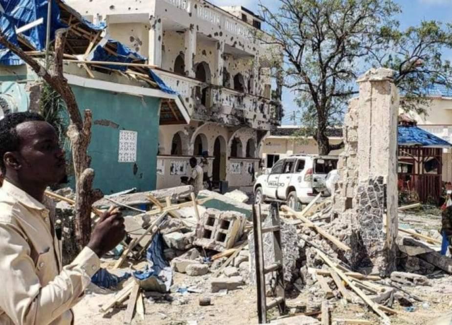 تفجير قوي قرب قصر الرئاسة في مقديشو
