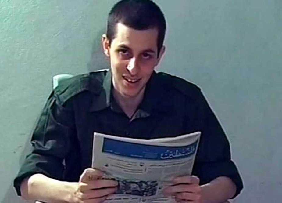 Gilad Shalit, held by Palestinian resistance movement Hamas' military wing.jpg