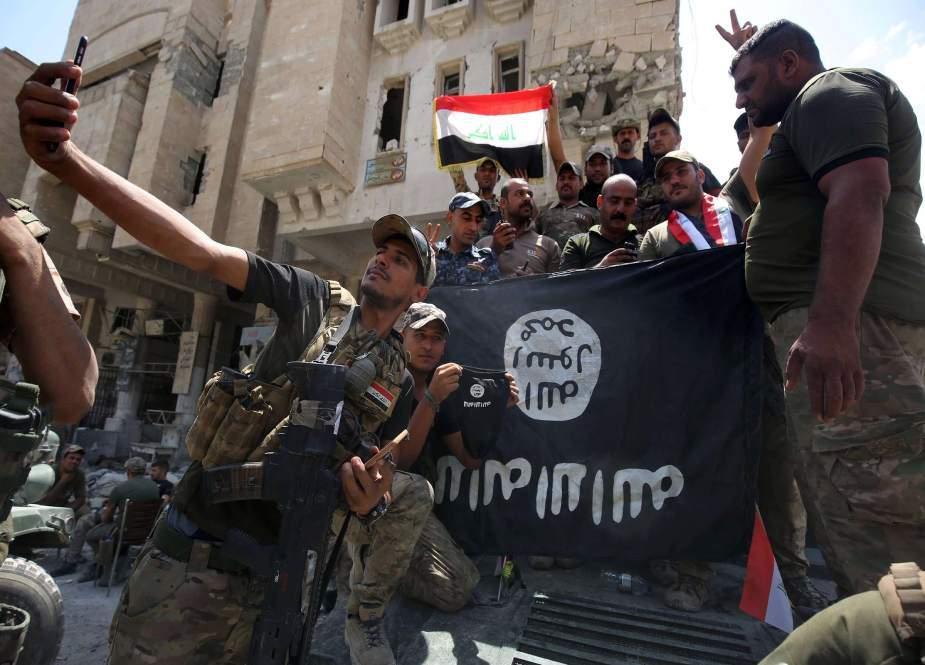 عراق اور امریکی سرپرستی میں داعش کی دوبارہ سر اٹھانے کی کوشش