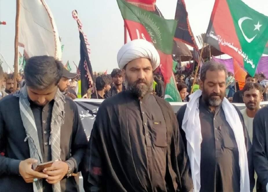 پاکستان حسینیوں کی دھرتی، یہاں یزید کے طرف داروں کیلئے کوئی جگہ نہیں، علامہ مقصود ڈومکی