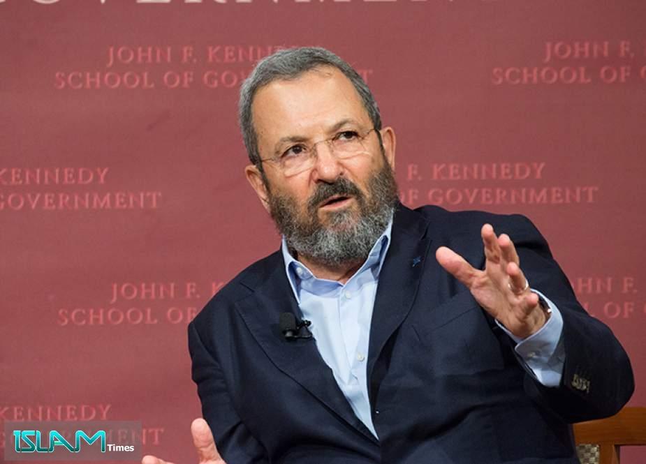 Ehud Barak: 'Israel' Lost Nuclear Confrontation with Iran
