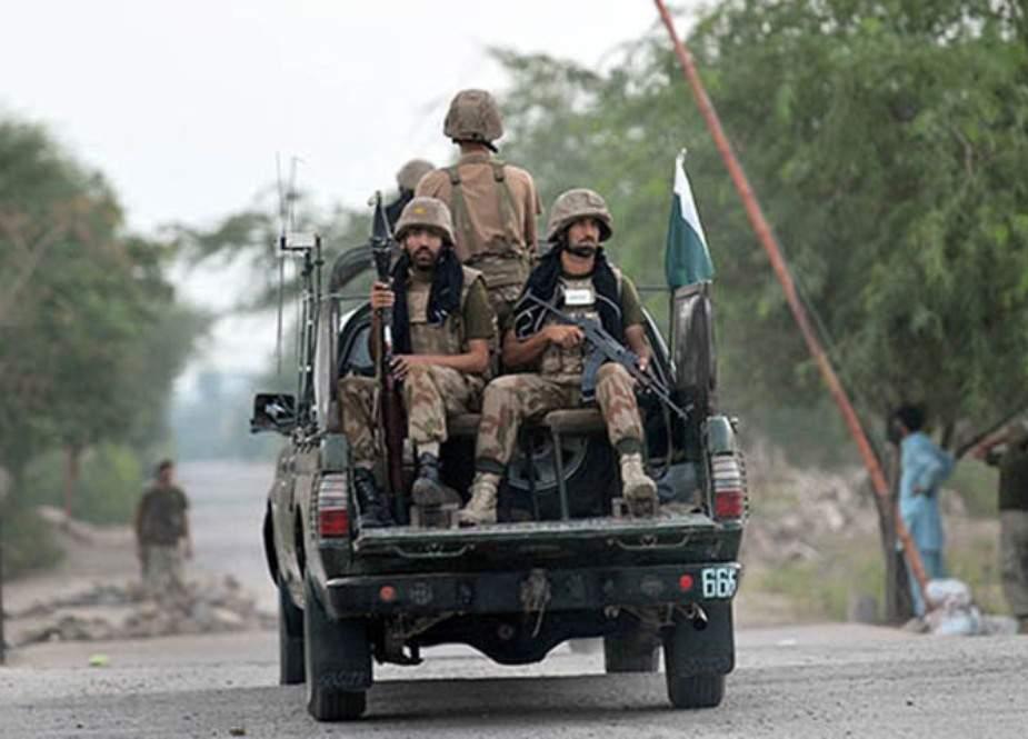 بلوچستان، بم حملے میں 4 ایف سی اہلکار شہید