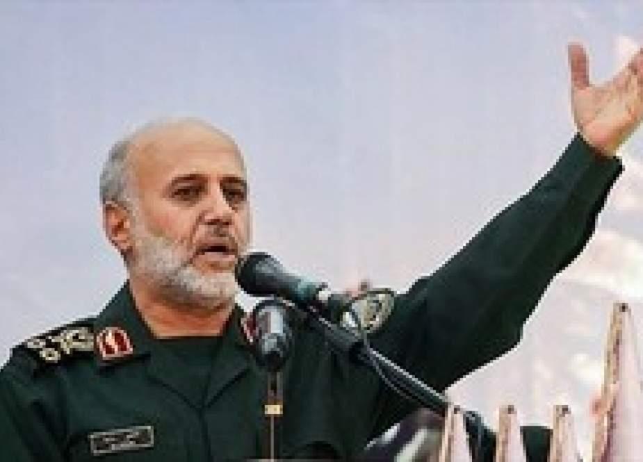 General Gholam Ali Rashid, commander of the Khatam ol-Anbia Headquarters.jpg