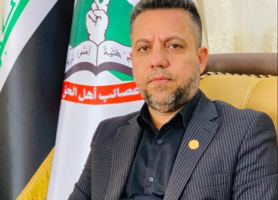 طبق قانون اساسی عراق ترویج برای عادی سازی روابط با رژیم صهیونیستی جرم است