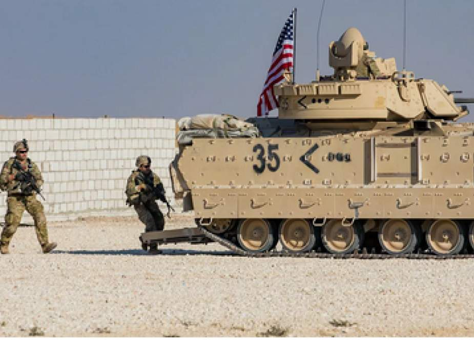 US troops in Syria (Sputnik).