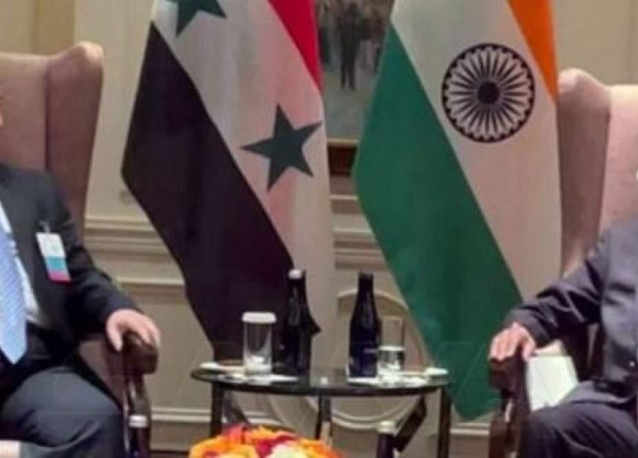 وزير خارجية الهند: ملتزمون بدعم سورية في مكافحة الإرهاب
