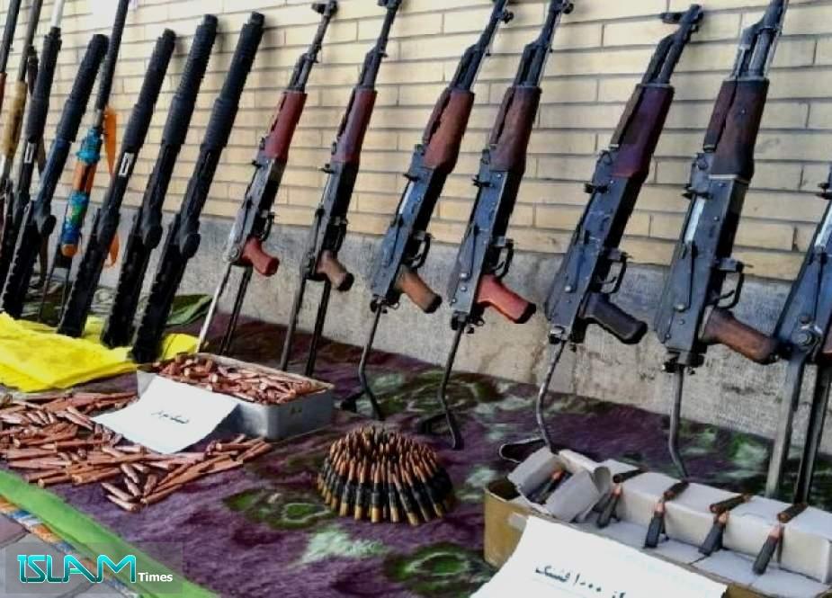 Terrorist Team Dismantled in Southwestern Iran