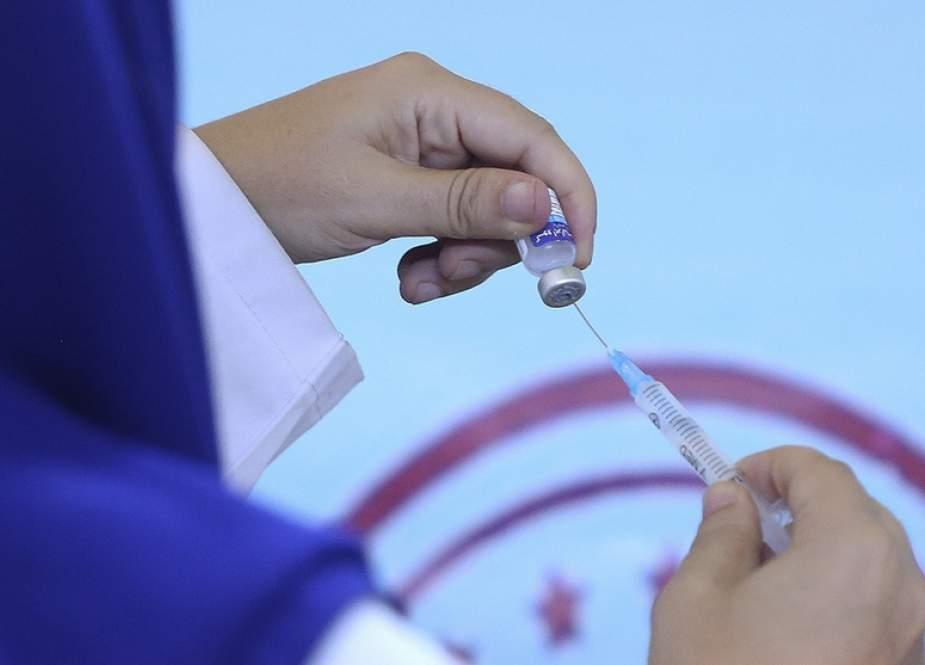 Kementerian Iran: 50% Lebih Populasi Target  Sudah Vaksin Minimal Satu Dosis