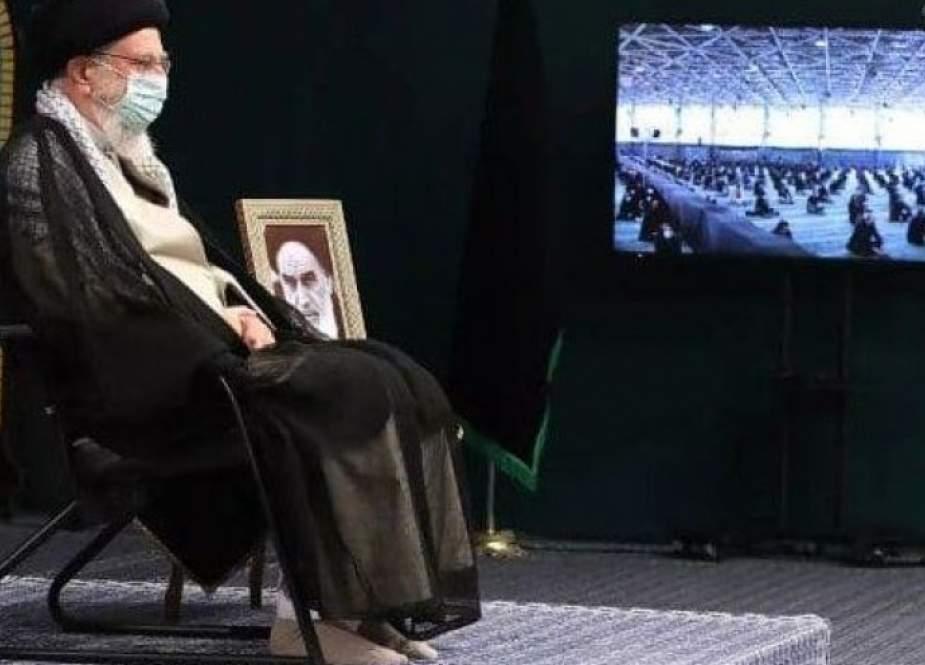 قائد الثورة الاسلامية يقيم عزاء بذكرى اربعين الامام الحسين (ع)