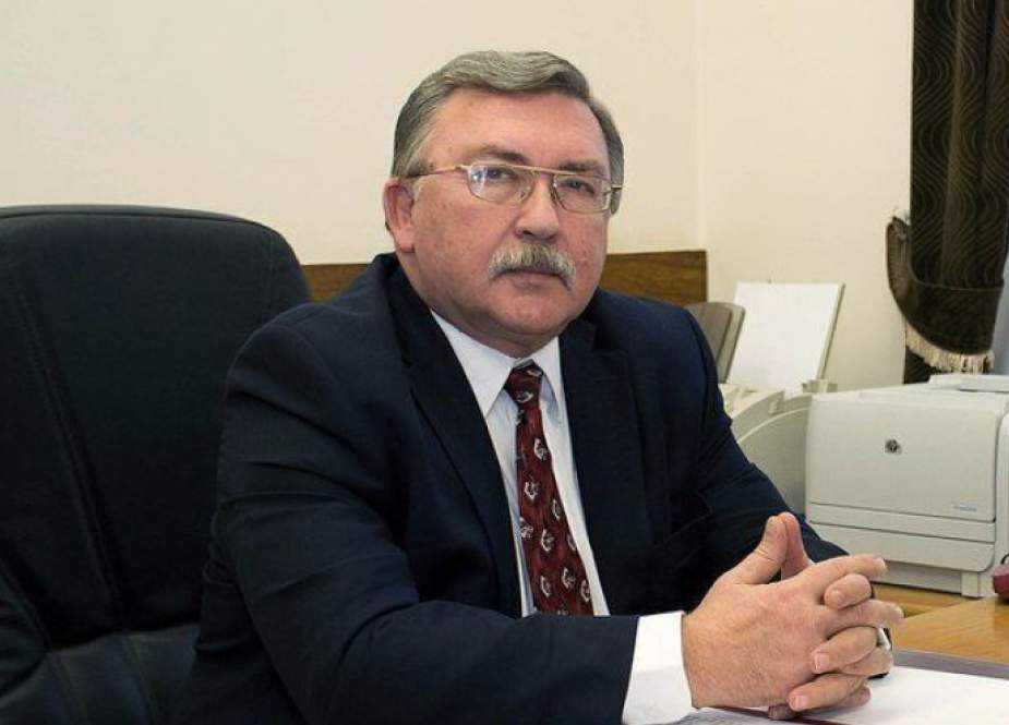 اوليانوف: منع الوكالة الذرية من الوصول الى مجمع كرج لا يناقض اتفاق الضمانات