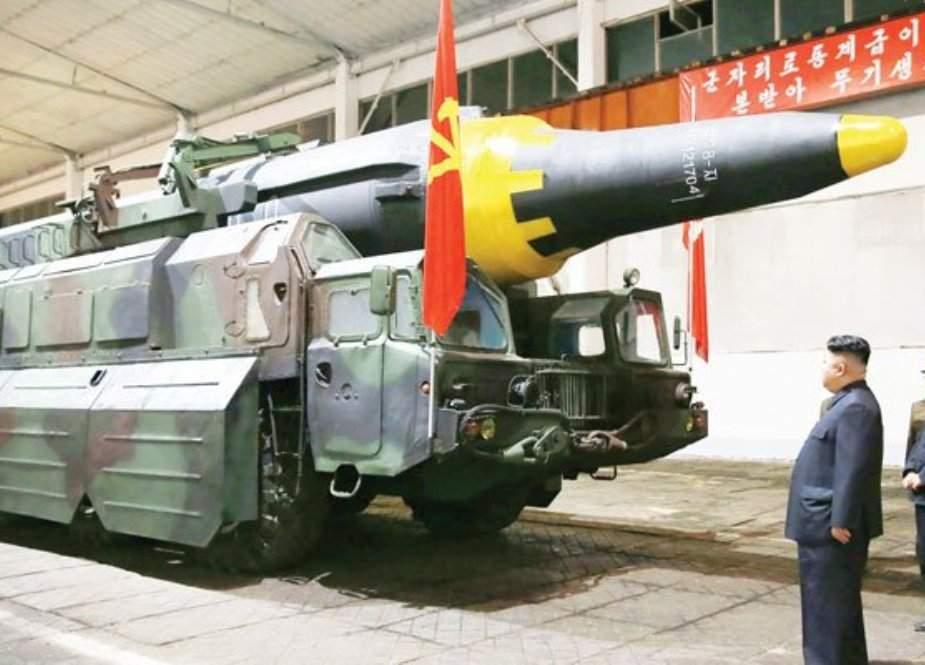 شمالی کوریا کی جانب سے ناقابلِ شناخت پروجیکٹائل فضا میں فائر