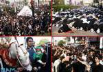کراچی میں اربعین حسینیؑ کا مرکزی جلوس رواں دواں، لاکھوں عزاداروں کی شرکت