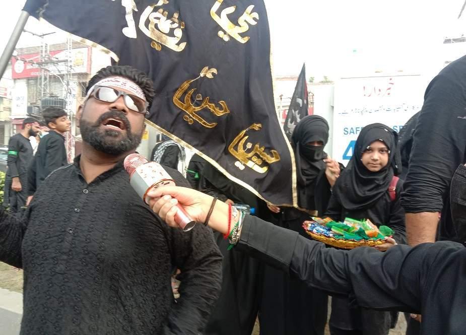 لاہور اربعین واک، حُسینی بچوں کی ماوں کیساتھ شرکت